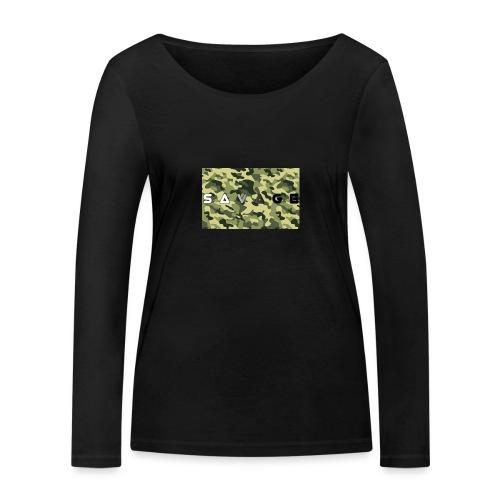 savage camo premium - Frauen Bio-Langarmshirt von Stanley & Stella