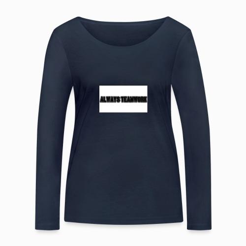 at team - Vrouwen bio shirt met lange mouwen van Stanley & Stella