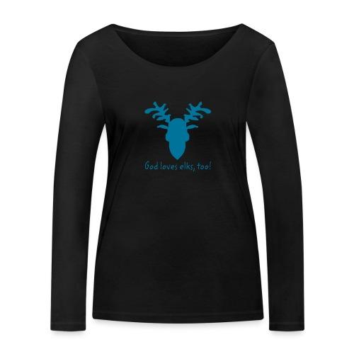 elch - Frauen Bio-Langarmshirt von Stanley & Stella