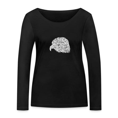 aigle royal blanc - T-shirt manches longues bio Stanley & Stella Femme