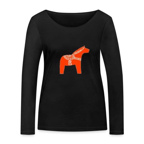 Dala by Pinni Art® rot - Frauen Bio-Langarmshirt von Stanley & Stella
