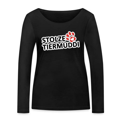 stolzetiermuddi png - Frauen Bio-Langarmshirt von Stanley & Stella