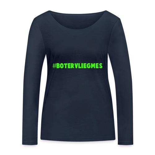 Botervliegmes T-shirt (kids) - Vrouwen bio shirt met lange mouwen van Stanley & Stella