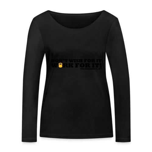 workforitsmal - Ekologisk långärmad T-shirt dam från Stanley & Stella