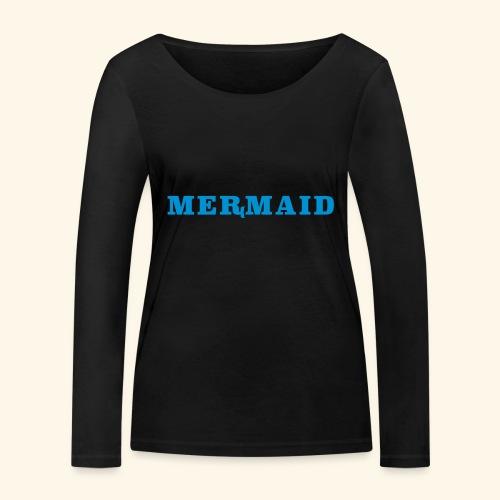 Mermaid logo - Ekologisk långärmad T-shirt dam från Stanley & Stella