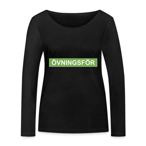 ÖVNINGSFÖR - Ekologisk långärmad T-shirt dam från Stanley & Stella