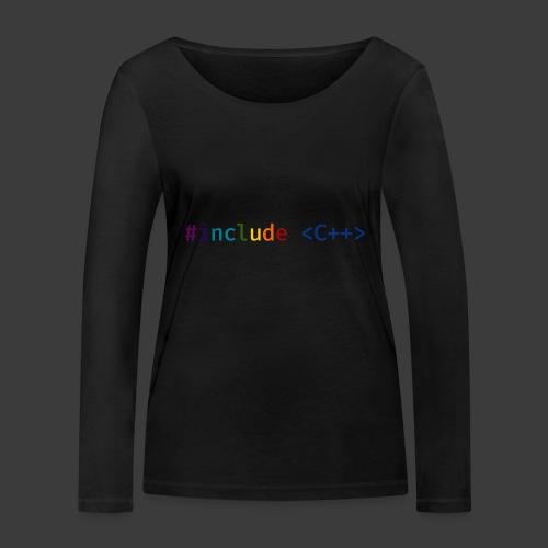 Rainbow Include - Women's Organic Longsleeve Shirt by Stanley & Stella