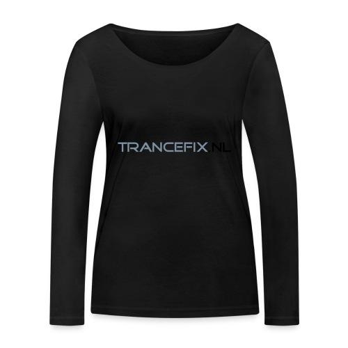 trancefix text - Women's Organic Longsleeve Shirt by Stanley & Stella