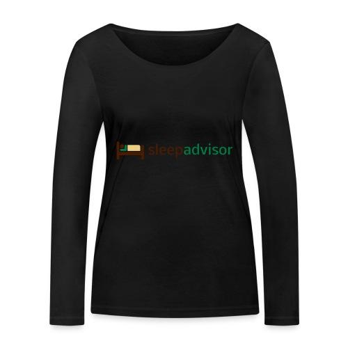 SleepAdvisor - Maglietta a manica lunga ecologica da donna di Stanley & Stella