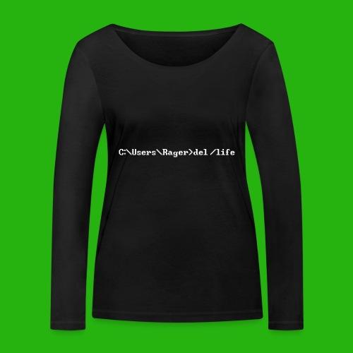 Programming Get A Life - Women's Organic Longsleeve Shirt by Stanley & Stella