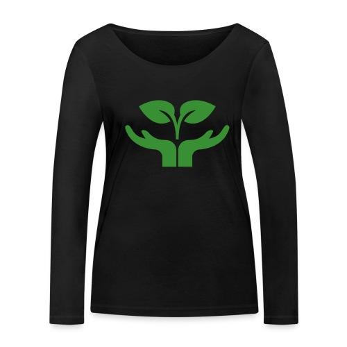 Pflanze einen Baum - Frauen Bio-Langarmshirt von Stanley & Stella