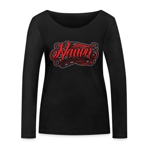 Nauen Black Rocker - Frauen Bio-Langarmshirt von Stanley & Stella