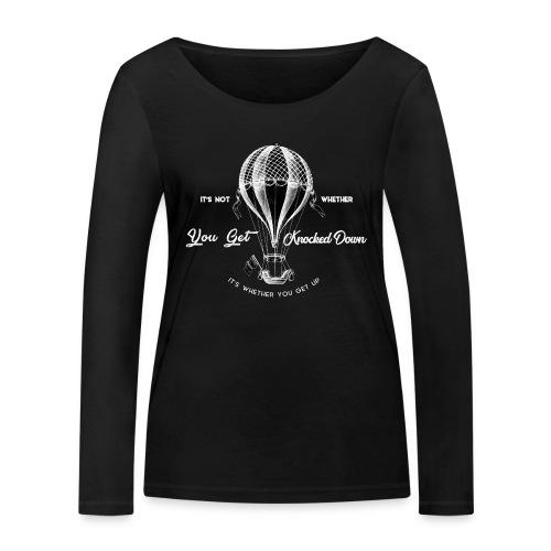 balon1 - Ekologiczna koszulka damska z długim rękawem Stanley & Stella