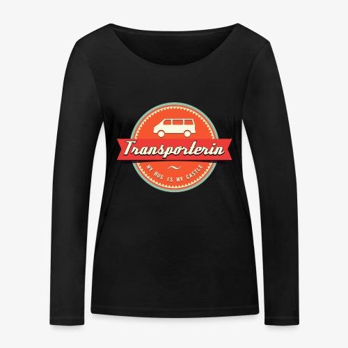 Transporterin Retro - Frauen Bio-Langarmshirt von Stanley & Stella