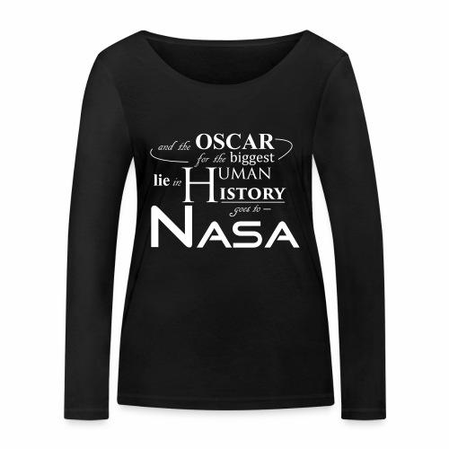 Flat Earth Nasa - Frauen Bio-Langarmshirt von Stanley & Stella