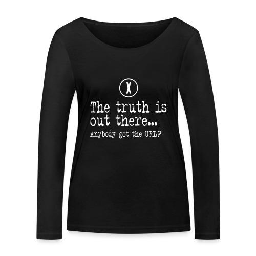 TheTruthIsOutThere - Vrouwen bio shirt met lange mouwen van Stanley & Stella