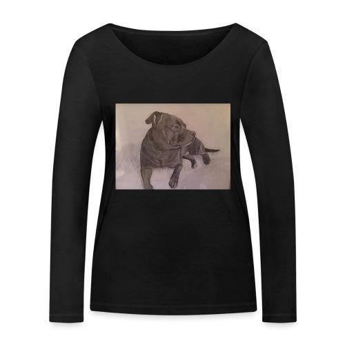 My dog - Ekologisk långärmad T-shirt dam från Stanley & Stella