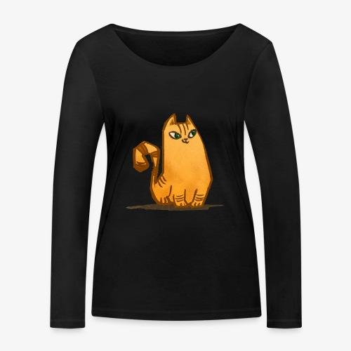 Katt - Ekologisk långärmad T-shirt dam från Stanley & Stella