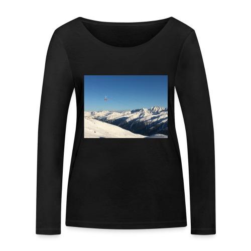 bergen - Vrouwen bio shirt met lange mouwen van Stanley & Stella