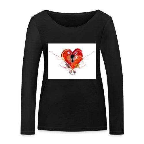 stvalentinmotif2 - T-shirt manches longues bio Stanley & Stella Femme