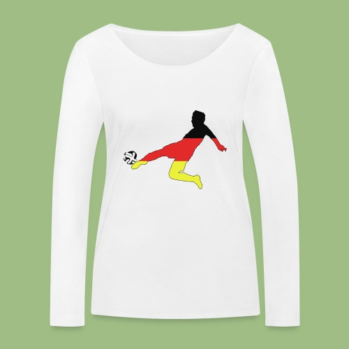 Mario Götze. Germany World Cup Winners - Ekologisk långärmad T-shirt dam från Stanley & Stella