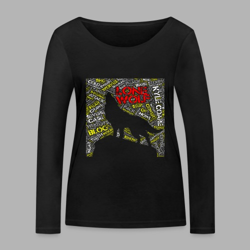 Lone Wolf - Women's Organic Longsleeve Shirt by Stanley & Stella