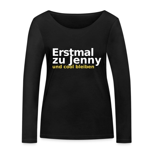 Erstmal zu Jenny - Frauen Bio-Langarmshirt von Stanley & Stella