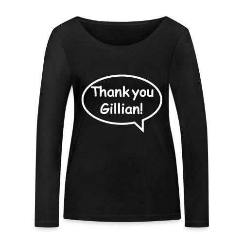 Bubble Gillian - Women's Organic Longsleeve Shirt by Stanley & Stella