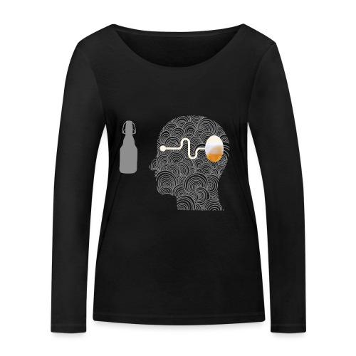 WYSIWYG Beer Shirt - Frauen Bio-Langarmshirt von Stanley & Stella