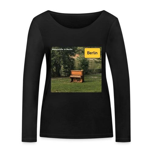 lonely Piano - Frauen Bio-Langarmshirt von Stanley & Stella