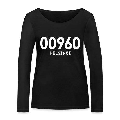 00960 HELSINKI - Stanley & Stellan naisten pitkähihainen luomupaita