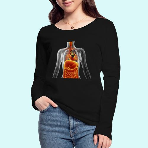 voues etes ici - T-shirt manches longues bio Stanley & Stella Femme