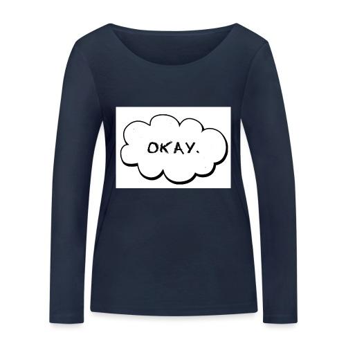 okay_2-jpg - Vrouwen bio shirt met lange mouwen van Stanley & Stella