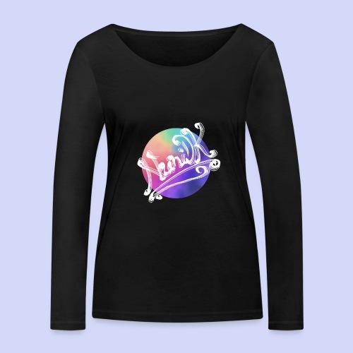 pastel rainbow, NuniDK Collection - Female top - Økologisk Stanley & Stella langærmet T-shirt til damer