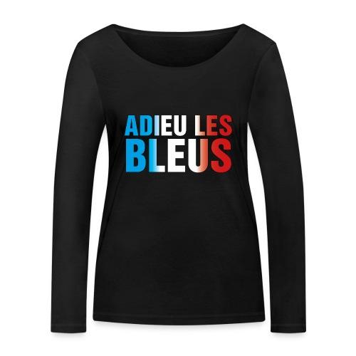 Adieu les bleus - Frauen Bio-Langarmshirt von Stanley & Stella