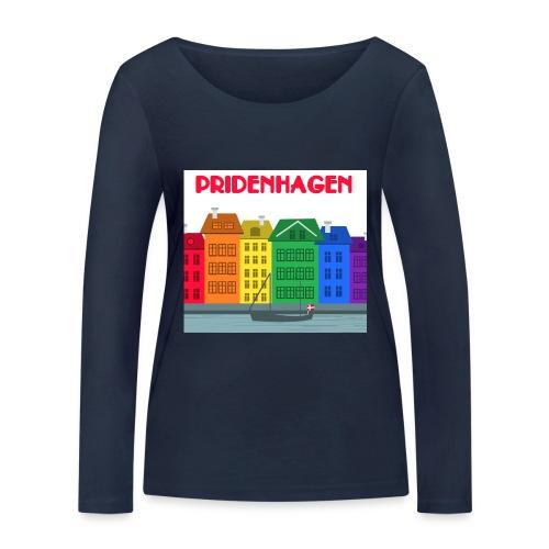 PRIDENHAGEN RETRO T-SHIRT - Økologisk Stanley & Stella langærmet T-shirt til damer