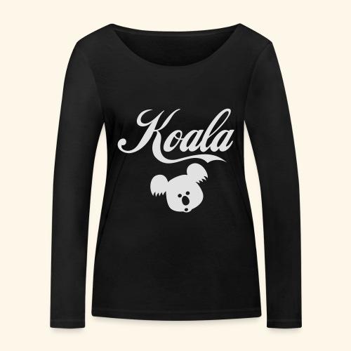 Koala Kawaii Comic Design für Australien Fans - Frauen Bio-Langarmshirt von Stanley & Stella