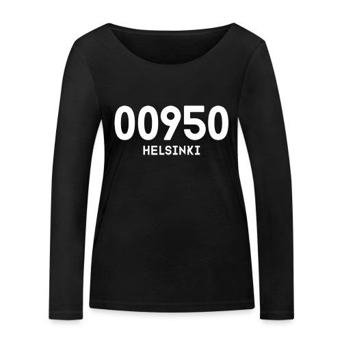 00950 HELSINKI - Stanley & Stellan naisten pitkähihainen luomupaita