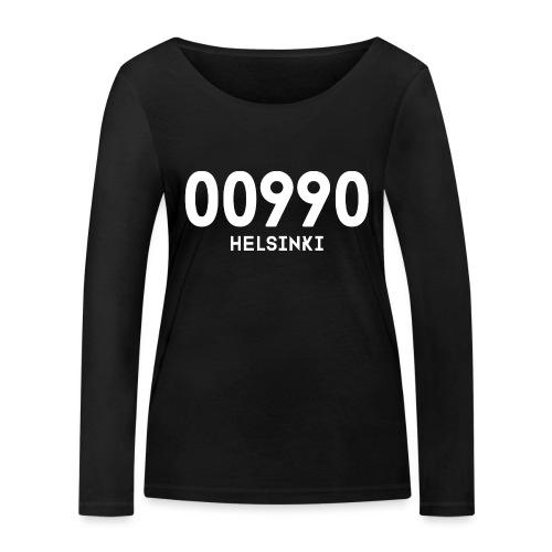 00990 HELSINKI - Stanley & Stellan naisten pitkähihainen luomupaita