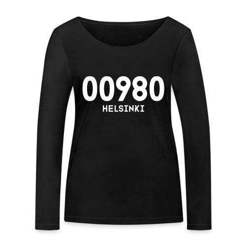 00980 HELSINKI - Stanley & Stellan naisten pitkähihainen luomupaita