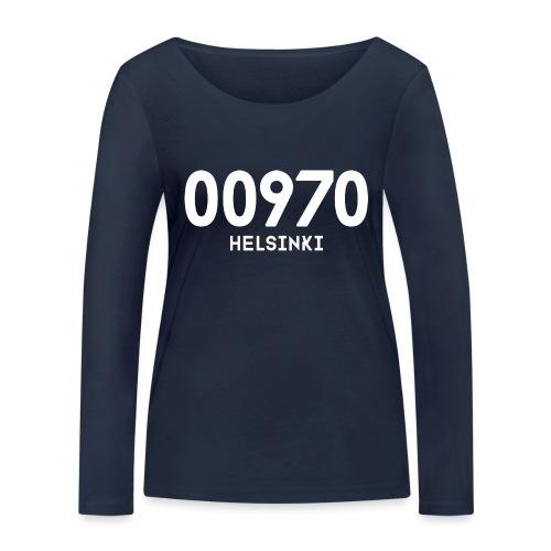 00970 HELSINKI - Stanley & Stellan naisten pitkähihainen luomupaita