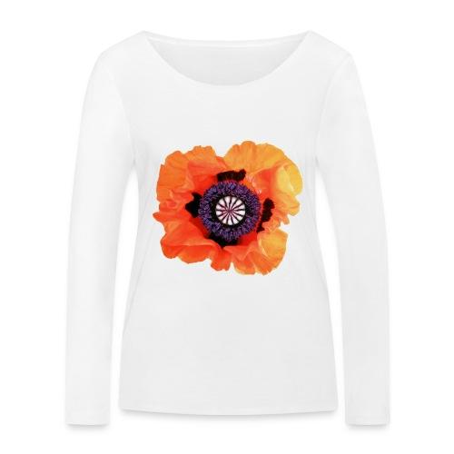 TIAN GREEN - Mohnblüte 2020 01 - Frauen Bio-Langarmshirt von Stanley & Stella