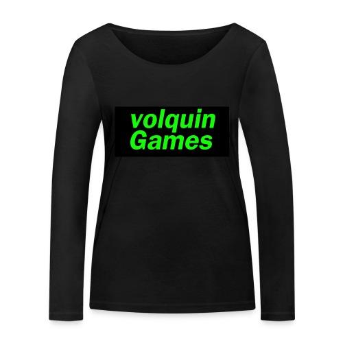 volquin - Vrouwen bio shirt met lange mouwen van Stanley & Stella