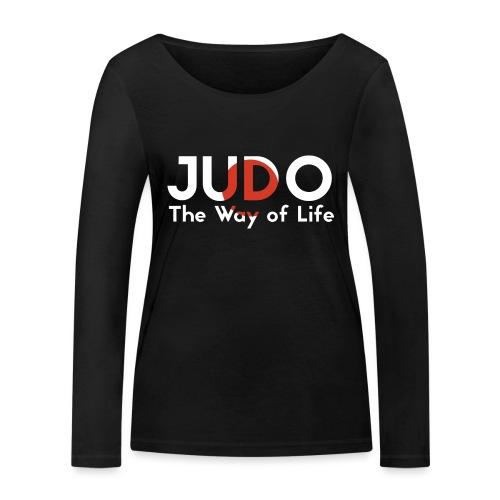 judo the way of life - Ekologiczna koszulka damska z długim rękawem Stanley & Stella