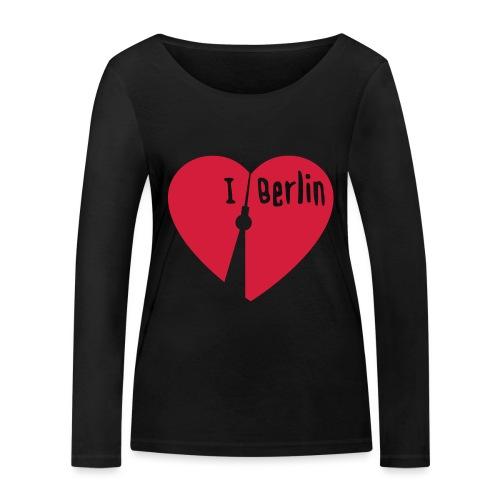 I love Berlin (1-farbig) - Frauen Bio-Langarmshirt von Stanley & Stella