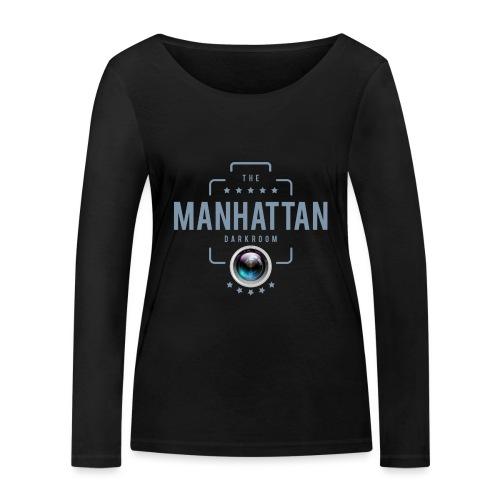 MANHATTAN DARKROOM VINTAGE - T-shirt manches longues bio Stanley & Stella Femme