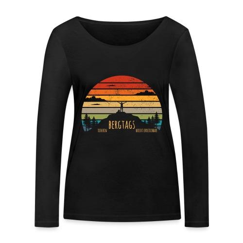 lustige Wanderer Sprüche Shirt Geschenk Retro - Frauen Bio-Langarmshirt von Stanley & Stella
