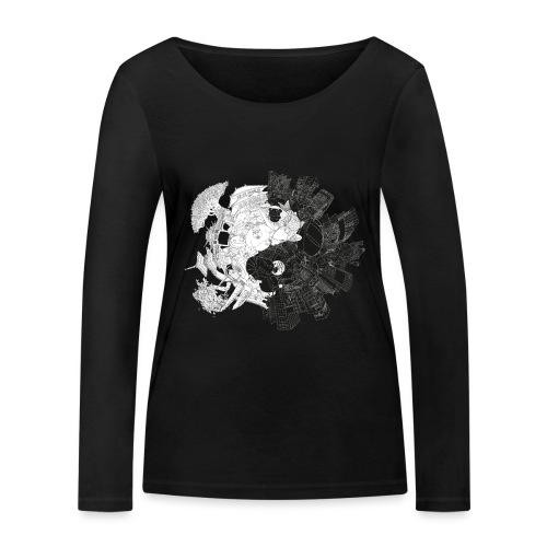 New Yin Old Yang - Women's Organic Longsleeve Shirt by Stanley & Stella