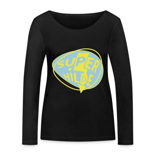 superhilde - Frauen Bio-Langarmshirt von Stanley & Stella