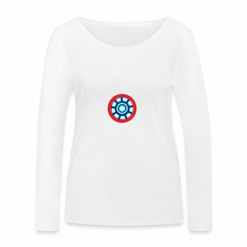 Iron mom - Women's Organic Longsleeve Shirt by Stanley & Stella
